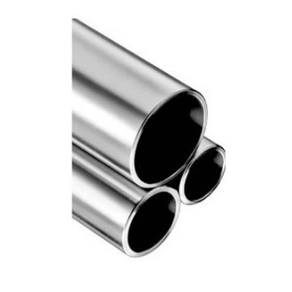 Tube rond inox poli miroir 316L